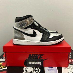 Air Jordan 1 Retro High OG 'Silver Toe'